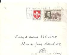 N° 1186 - 1258 Sur Lettre De LA LONDE LES MAURES Du 15/9/1960 - Marcophilie (Lettres)