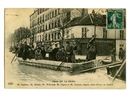 18583   --   7 Cartes  -  Paris  -  Inondations  -  Crue De La Seine, Janvier 1910 - Catastrophes