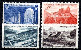 N° 841A à 843 Série Complète - Neuf** -  Monuments Et Sites