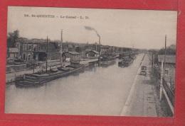 St Quentin  --   Le Canal  -- - Saint Quentin