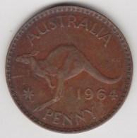 @Y@    Australië   1 Penny   1964     (3288) - Zonder Classificatie