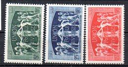 N° 850 à 852 Série Complète - Neuf** -  75ème Anniversaire De L'U.P.U.