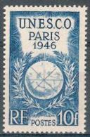 France - 1946 - Conférence Générale De L´U.N.E.S.C.O. 10 F. Bleu - Y&T N° 771 ** Neuf Luxe ( 1 Er Choix )