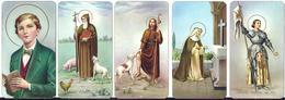 LOTTO 5  DI NR. 5 SANTINI . - Mm. 55 X  100 - E -  EDITRICE  FB SERIE 400 NR. 167/168/169/170/171 - Religione & Esoterismo
