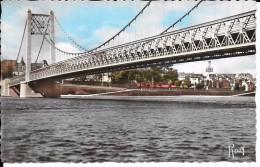 44 ANCENIS  Vue Sous Le Pont Suspendu - Ancenis