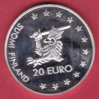 Finlande - 20 € Argent 1996 - Finland