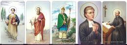 LOTTO 8  DI NR. 5 SANTINI . - Mm. 55 X  100 - E -  EDITRICE  FB SERIE 400 NR. 1183/185/186/187/188 - Religione & Esoterismo