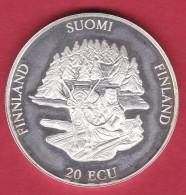 Finlande - 20 Ecus Argent 1994 - Finlande