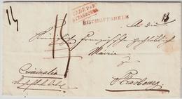 """Ca. 1835, """" BADE PAR STRASBOURG """", #6336 - Storia Postale"""