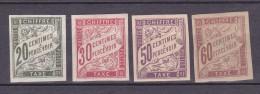 N° 20 à 2' Taxes Colonies Françaises :Série  Timbres  Neuf Avec Charnière Gomme D´origine - Taxes