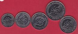 Géorgie - Ensemble De 5 Monnaies 1998 - Neuves - Géorgie