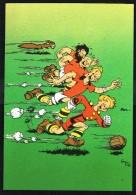 SPIROU - CP N° 4 : Illustration Couverture Album N° 20 De FRANQUIN - Non Circulé - Not Circulated - Ed. DUPUIS - 1985. - Bandes Dessinées