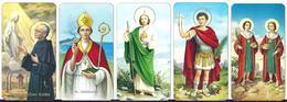 LOTTO 13  DI NR. 5 SANTINI . - Mm. 55 X  100 - E -  EDITRICE  FB SERIE 400 NR. 293/294/298/302/303 - Religione & Esoterismo