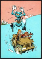 SPIROU - CP N° 8 : Illustration Couverture Album N° 24 De J. GILLAIN - Non Circulé - Not Circulated - Ed. DUPUIS - 1985. - Bandes Dessinées