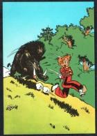 SPIROU - CP N° 9 : Illustration Couverture Album N° 25 De FRANQUIN - Non Circulé - Not Circulated - Ed. DUPUIS - 1985. - Bandes Dessinées