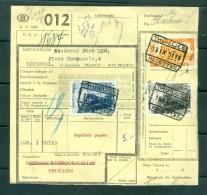 """Vrachtbrief Van """"THUILLIES - RECETTES"""" Naar """"LOVERVAL"""" - (ref. Nr 225) - 1942-1951"""