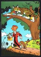 SPIROU - CP N° 12 : Illustration Couverture Album N° 30 De FRANQUIN - Non Circulé - Not Circulated - Ed. DUPUIS - 1986. - Bandes Dessinées