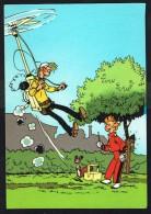 SPIROU - CP N° 20 : Illustration Couverture Album N° 38 De FRANQUIN - Non Circulé - Not Circulated - Ed. DUPUIS - 1986. - Bandes Dessinées