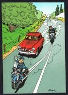 SPIROU - CP N° 23 : Illustration Couverture Album N° 41 De FRANQUIN - Non Circulé - Not Circulated - Ed. DUPUIS - 1986. - Bandes Dessinées