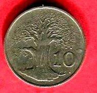 10 C 1987 TB+ 4 - Zimbabwe