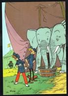 SPIROU - CP N° 24 : Illustration Couverture Album N° 42 De FRANQUIN - Non Circulé - Not Circulated - Ed. DUPUIS - 1986. - Bandes Dessinées