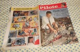 Pilote. N° 62 (29/12/1960) Complet Claude Luter Votre Parrain Présente Les Collectionneurs De Petits Trains - Pilote