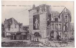GUERRE 1914- 1918  - SAINT-  MIHIEL  - Rue Jeanne D'Arc. - Saint Mihiel