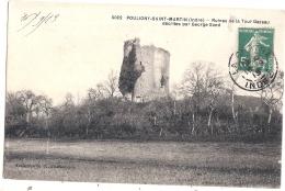 -36- POULIGNY SAINT MARTIN  Ruines De La Tour - Excellent état - Francia