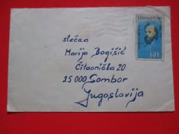 Cover-Czechoslovakia / Yugoslavia 1974.