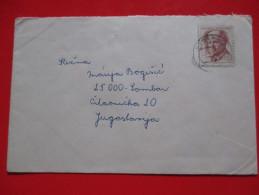 Cover-Czechoslovakia / Yugoslavia 1972.