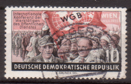 DDR , 1955 , Mi.Nr. 452 O / Used - Used Stamps