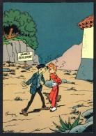 SPIROU - CP N° 33 : Illustration Couverture Album N° 51 De FRANQUIN - Non Circulé - Not Circulated - Ed. DUPUIS - 1985. - Bandes Dessinées