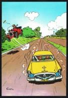 SPIROU - CP N° 36 : Illustration Couverture Album N° 54 De FRANQUIN - Non Circulé - Not Circulated - Ed. DUPUIS - 1986. - Bandes Dessinées