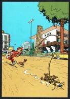 SPIROU - CP N° 38 : Illustration Couverture Album N° 56 De FRANQUIN - Non Circulé - Not Circulated - Ed. DUPUIS - 1985. - Bandes Dessinées