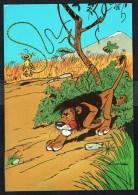 SPIROU - CP N° 40 : Illustration Couverture Album N° 58 De FRANQUIN - Non Circulé - Not Circulated - Ed. DUPUIS - 1985. - Bandes Dessinées