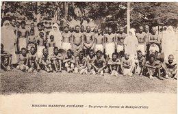 Océanie - FIDJI _ Groupe De Lépreux De Makogaî (missions Maristes D'océanie ) - Fiji
