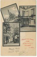 Souvenir De La Pension Paris 21 Rue Valette Pantheon L. Guillier - Arrondissement: 05