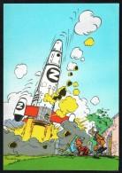 SPIROU - CP N° 55 : Illustration Couverture Album N° 73 De FRANQUIN - Non Circulé - Not Circulated - Ed. DUPUIS - 1985. - Bandes Dessinées