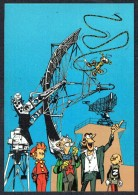 SPIROU - CP N° 57 : Illustration Couverture Album N° 75 De FRANQUIN - Non Circulé - Not Circulated - Ed. DUPUIS - 1985. - Bandes Dessinées