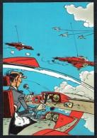SPIROU - CP N° 59 : Illustration Couverture Album N° 77 De FRANQUIN - Non Circulé - Not Circulated - Ed. DUPUIS - 1985. - Bandes Dessinées