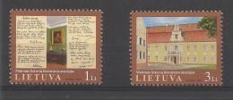 Lietuva  697/98 **  (MNH) - Lituanie