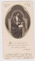 """Image Souvenir De Communion """" Dieu Qui Donne Tout""""  église De Landiscacq 1934 - Images Religieuses"""