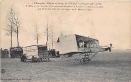 ¤¤  -  11  -  Camp De CHALONS  -  L'Aéroplane Farman  -  Avion , Aviation   -  ¤¤ - Châlons-sur-Marne