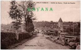 61 LONLAY-l'ABBAYE - Entrée Du Bourg - Route De Rouelle - France