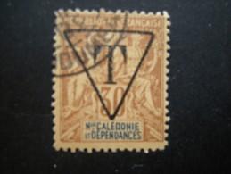 N-LLE CALEDONIE - 1894/900, Fournier Tres Rare, TAXE, Cent. 30 Oblit., N. 6, TTB - Nuovi