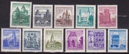 Osterreich 1957-1960 Buildings Mi 1038-1044/1051-1054-1056