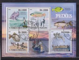 Sao Tome And Principe 2009 Fauna, Fishes
