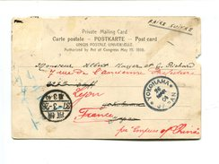 Cp - Poste Maritime JAPON - Lettres & Documents