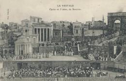 34,Hérault, BEZIERS, La Vestale, Opéra En 3 Actes De Ponsini, Animations, Scan Recto-Verso - Beziers