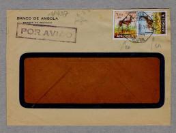 """Luanda PERFIN B.A. ( Angola Bank ) Cover 1956 """"CABRA DE LEQUE + VACA DO MATO"""" Faune Animals Animaux Portugal Sp4317"""